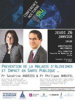 Affiche Conférence Jeudi 26 janvier 2017